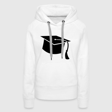 graduate PhD student High school Graduation Party - Women's Premium Hoodie
