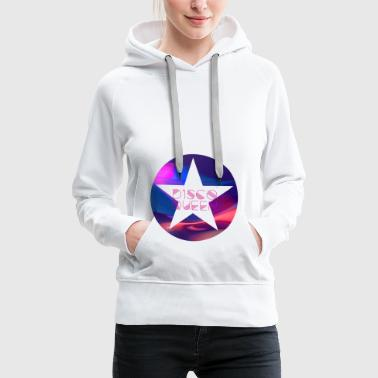 disco queen dance ny star dance 80s dab 70s - Women's Premium Hoodie