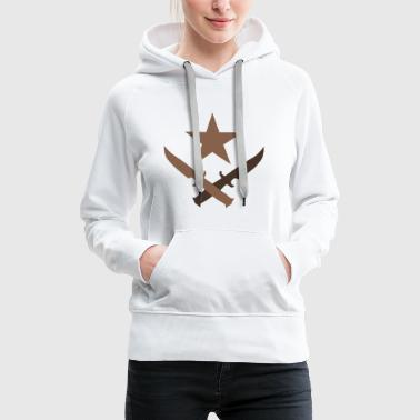 T Logo - Cs:go artwork - Sweat-shirt à capuche Premium pour femmes