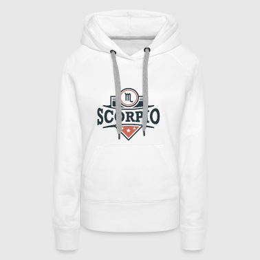 Star sign Scorpio Scorpius November gift - Women's Premium Hoodie