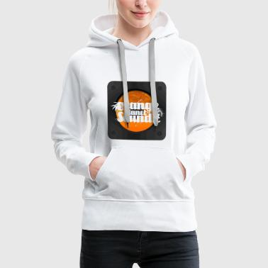 Orange Planète Soundz 5 - Sweat-shirt à capuche Premium pour femmes