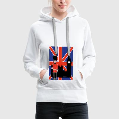 GUARD FLYING JACK UND BIG BEN - Frauen Premium Hoodie
