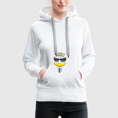 Banana. Ammunition. Light bulb. Sunglasses. - Women's Premium Hoodie