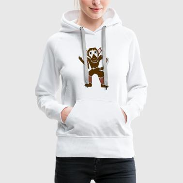 little monkey - Women's Premium Hoodie
