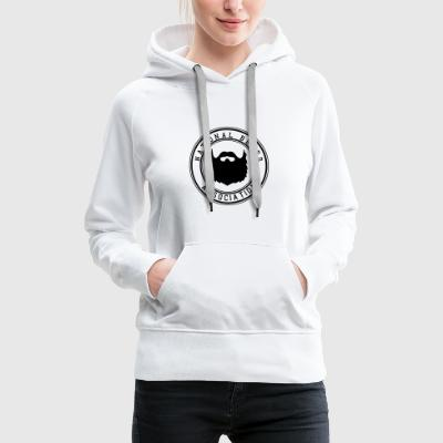 Association nationale Barbe - Sweat-shirt à capuche Premium pour femmes