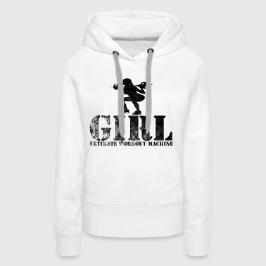 Ultimate Workout Machine (2) - Women's Premium Hoodie