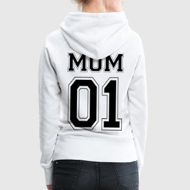 MOM 01 - Black Edition - Women's Premium Hoodie