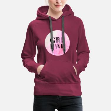 Emotion GRL PWR * GIRL POWER - Naisten premium-huppari