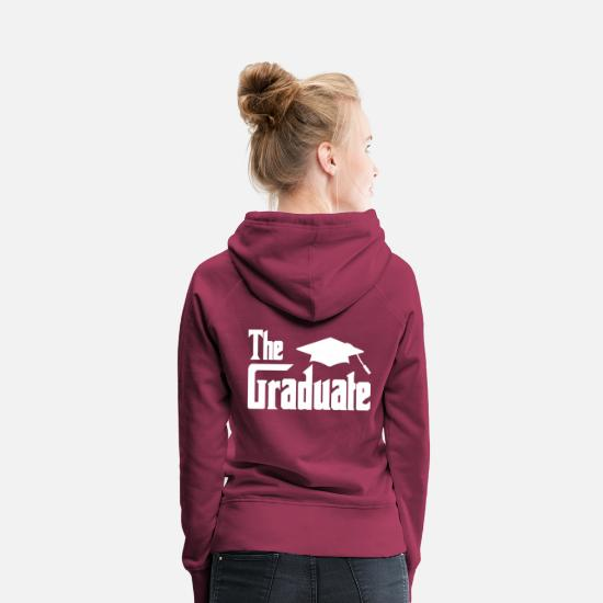 Love Hoodies & Sweatshirts - Graduation - Women's Premium Hoodie bordeaux