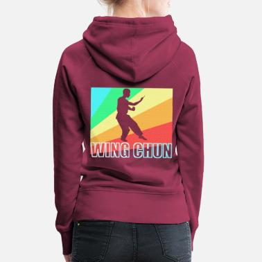 Wing Wing Chun Ip Man Kungfu China Gift - Women's Premium Hoodie