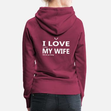 Declaration Of Love Masons love my wife's wife, Father's Day Mother's Day - Women's Premium Hoodie