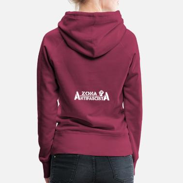 Antifascist Antifascist Zone - Women's Premium Hoodie