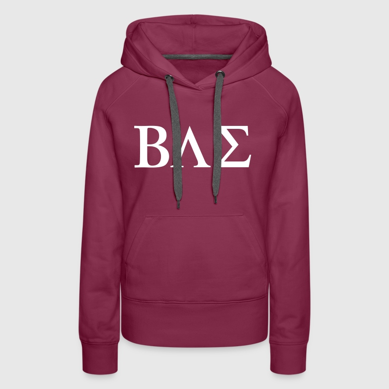 BAE Before Anyone Else - Sweat-shirt à capuche Premium pour femmes