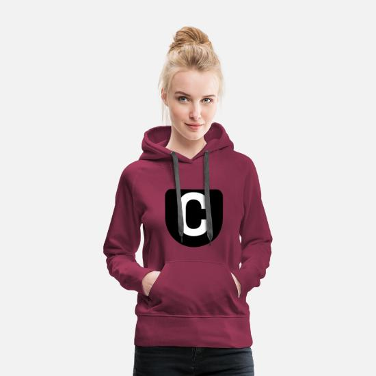 Gift Idea Hoodies & Sweatshirts - ABC - Women's Premium Hoodie bordeaux