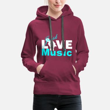 Be Yourself Just Live Music - Frauen Premium Hoodie