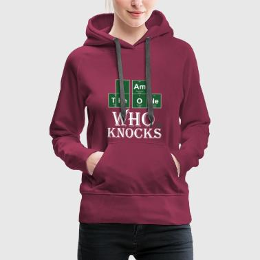 The_one_who_Knocks - Sweat-shirt à capuche Premium pour femmes
