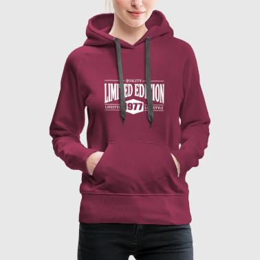 Limited Edition 1977 - Women's Premium Hoodie
