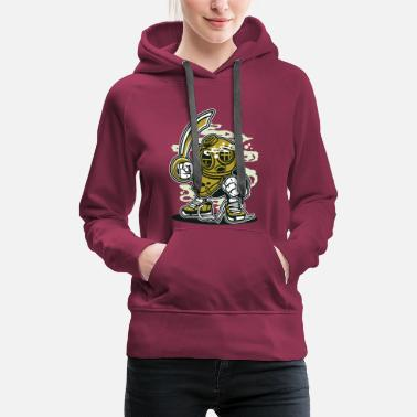 Cartoon Character A DIVER - Funny cartoon cartoon character gift - Women's Premium Hoodie