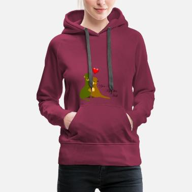 Otter You Are My Otter Love | love - Women's Premium Hoodie