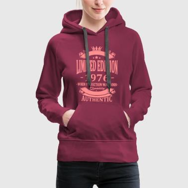 Limited Edition 1976 - Women's Premium Hoodie