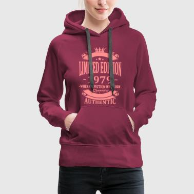 Limited Edition 1979 - Women's Premium Hoodie