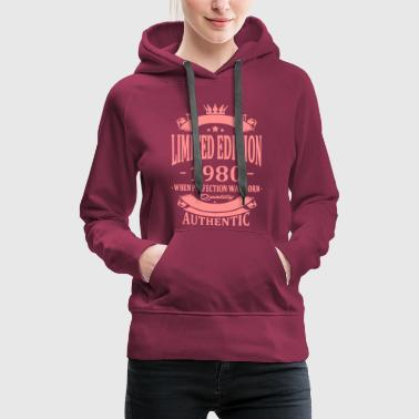 Limited Edition 1980 - Women's Premium Hoodie
