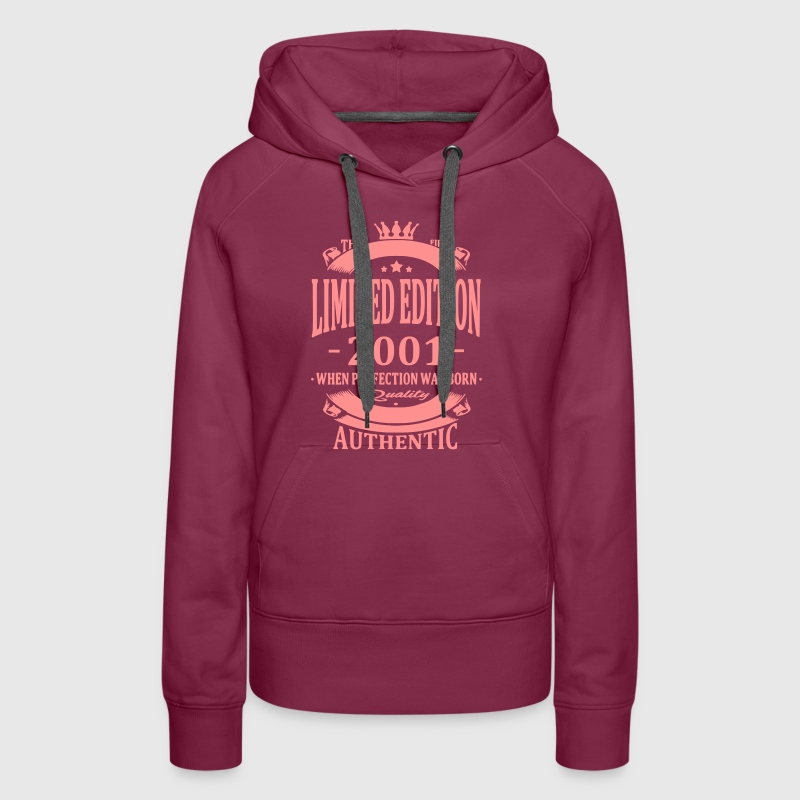 Limited Edition 2001 - Women's Premium Hoodie