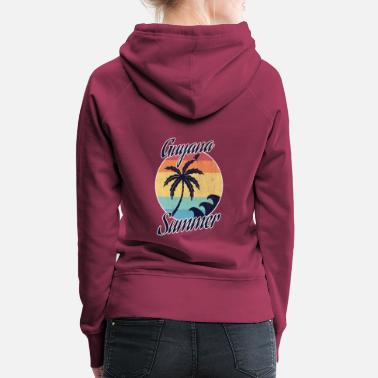 Guyana In Guyana it is the most beautiful! - Women's Premium Hoodie