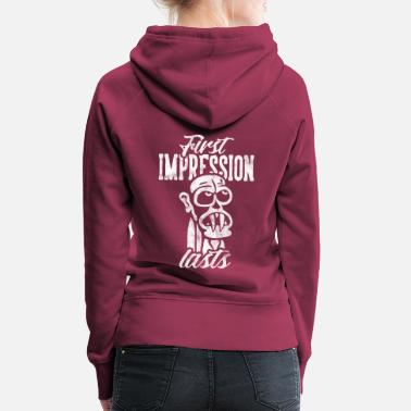 First impression lasts - Women's Premium Hoodie