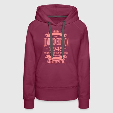 Limited Edition 1945 - Women's Premium Hoodie