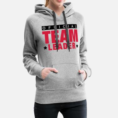 Patron offcial_team_leader_to2 - Sweat à capuche premium Femme
