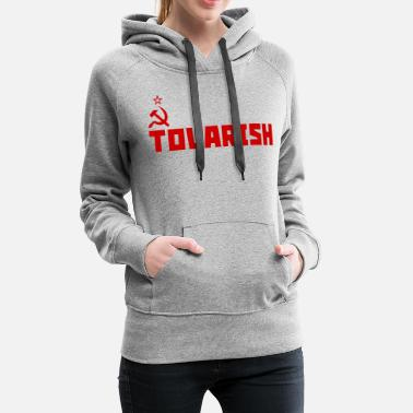 Anticapitalist Tovarish Red - Women's Premium Hoodie