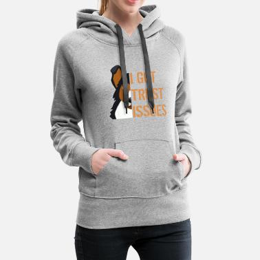 Happy Easter German shepherd - Women's Premium Hoodie
