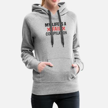 Jerk Fail compilation clumsy clumsy jerk - Women's Premium Hoodie