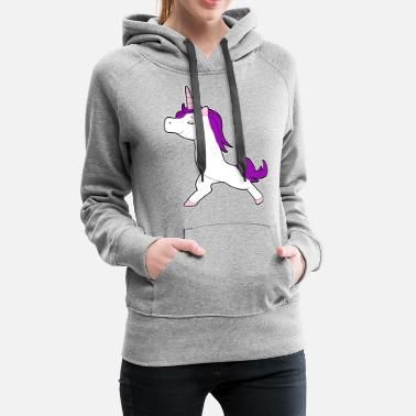 Conceited Unicorn chick proudly conceited gift idea - Women's Premium Hoodie
