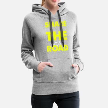 Bicycle road gift - Women's Premium Hoodie