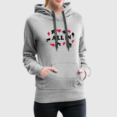 All in - Frauen Premium Hoodie