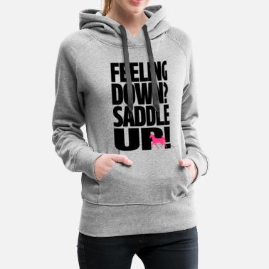 Saddle Saddle Up - Women's Premium Hoodie