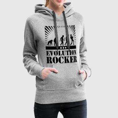 Hard Rock Evolution Rocker - Sweat-shirt à capuche Premium pour femmes