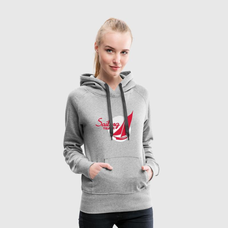 Sailing Team - Sweat-shirt à capuche Premium pour femmes
