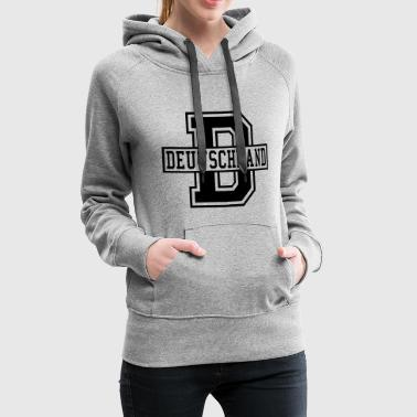 College Style Germany D College Style - Women's Premium Hoodie
