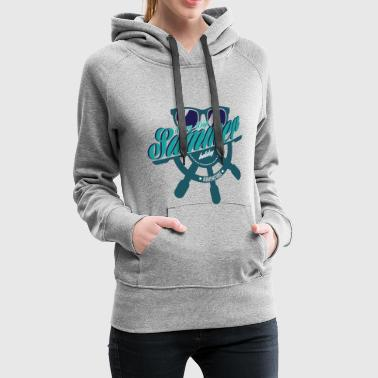 summer holiday adventure sailing sommer segeln - Frauen Premium Hoodie