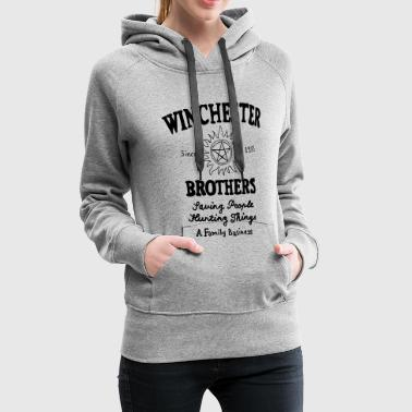 Supernatural Winchester Brothers - Women's Premium Hoodie