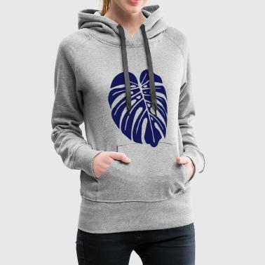 monstera leaf - Women's Premium Hoodie