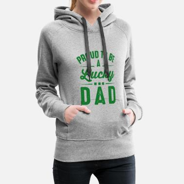 Patrick's Day Shirts. Birthday Gift for Dad/Men - Sweat-shirt à capuche Premium pour femmes