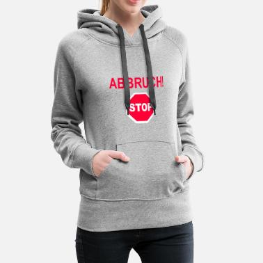 Crash Crash! - Sweat-shirt à capuche Premium pour femmes