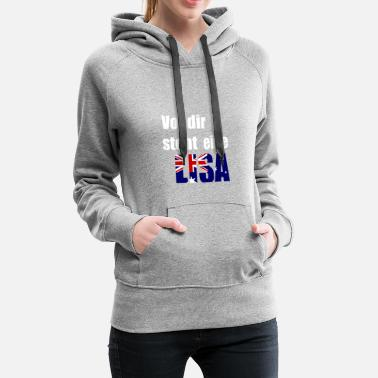 In front of you is a Lisa - Women's Premium Hoodie