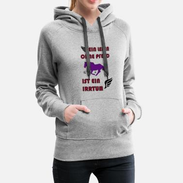 Gallop Horse Shirt · Pony Willow · Erroneous Gift - Women's Premium Hoodie