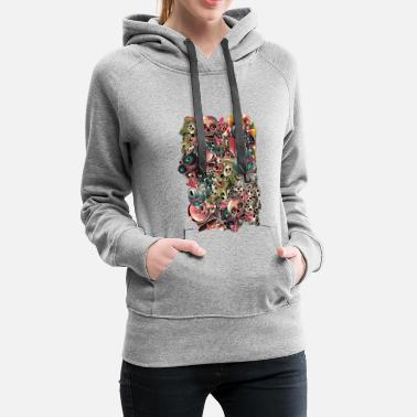 Monster World - Women's Premium Hoodie