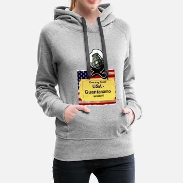 Matrix One way ticket - Women's Premium Hoodie